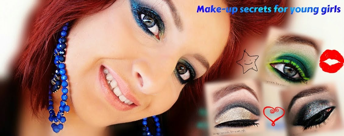 Make-up secrets for young girls