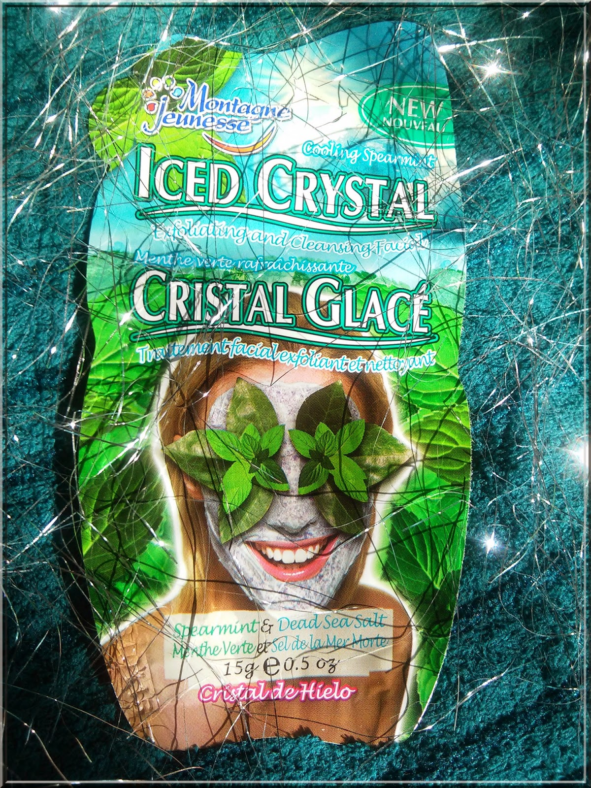 Montagne Jeunesse, Maseczka Iced Crystal z mentolem i miętą