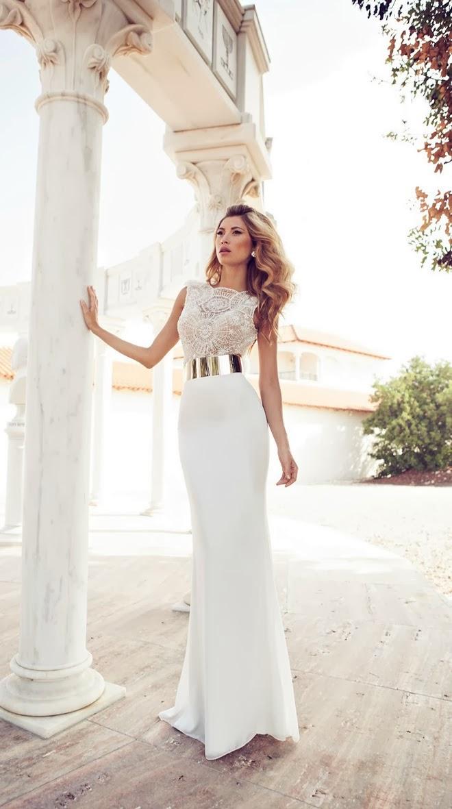 vestidos de novia ceñidos al cuerpo : la novia y bodas