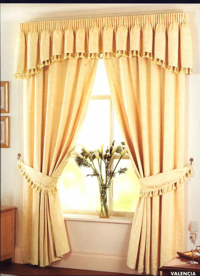 Cortinas para el hogar modelos de cenefas for Modelos de cortinas