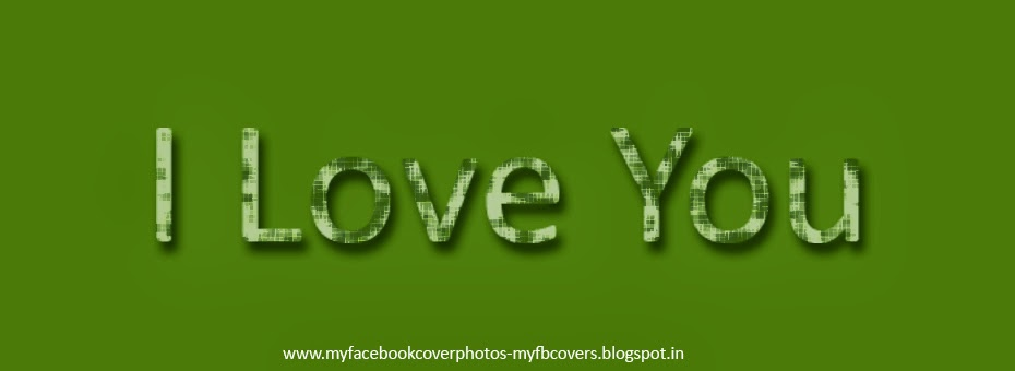 I Love You Covers for Facebook