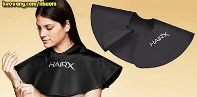 khăn choàng cao su nhuộm tóc