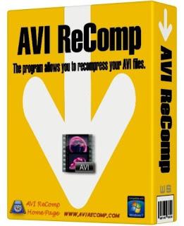 AVI ReComp 1.5.1 (Cara Menggabungkan Film Dan Subtitle)