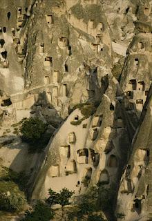 Turkey, Urgup - Cappadocia Cave Dwellings