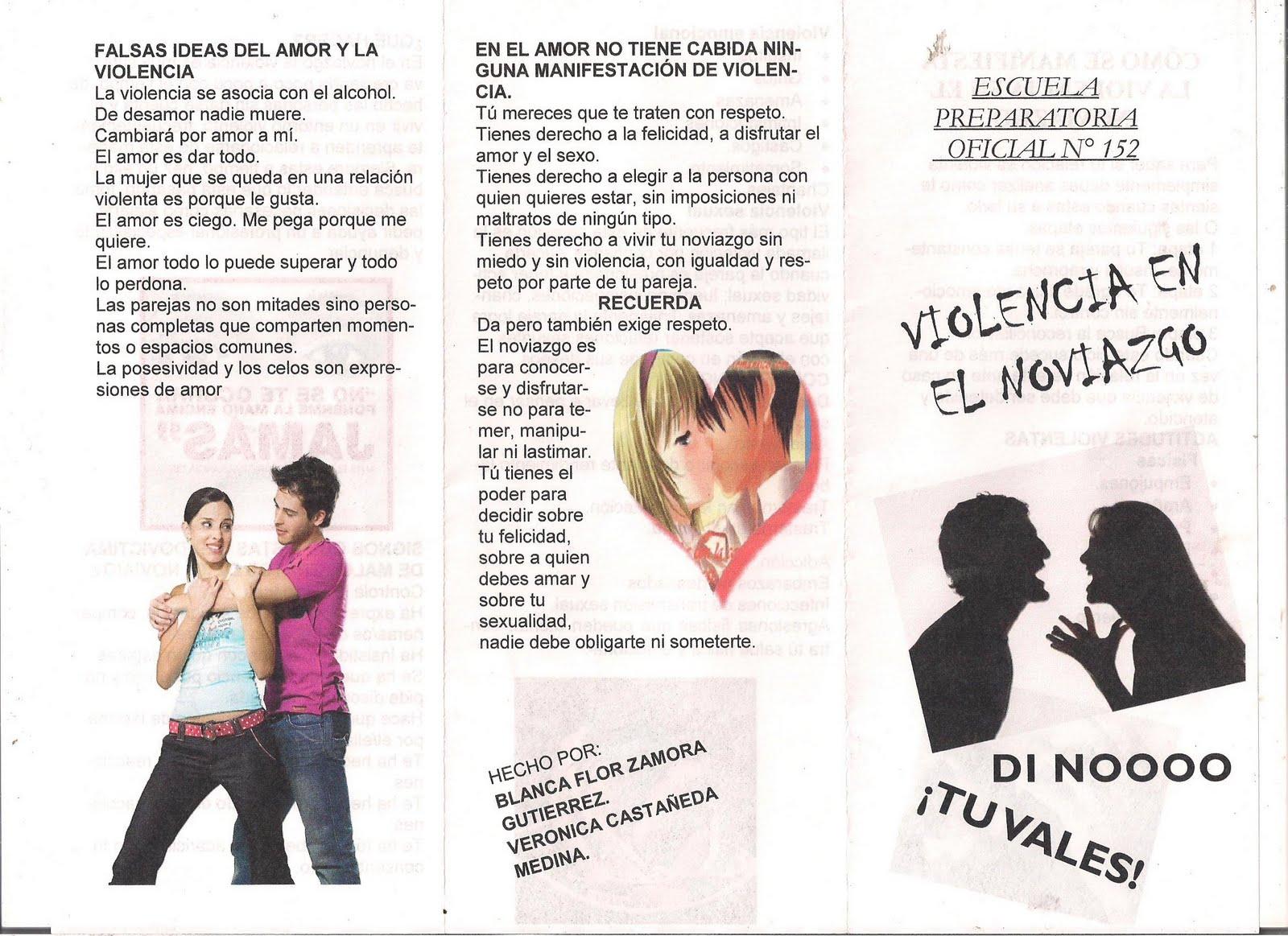 Equidad de genero epo 152 violencia en el noviazgo for Que es un articulo cultural o de espectaculos