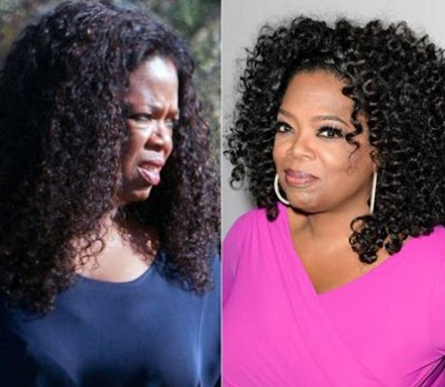 Oprah Winfrey Tanpa Make Up