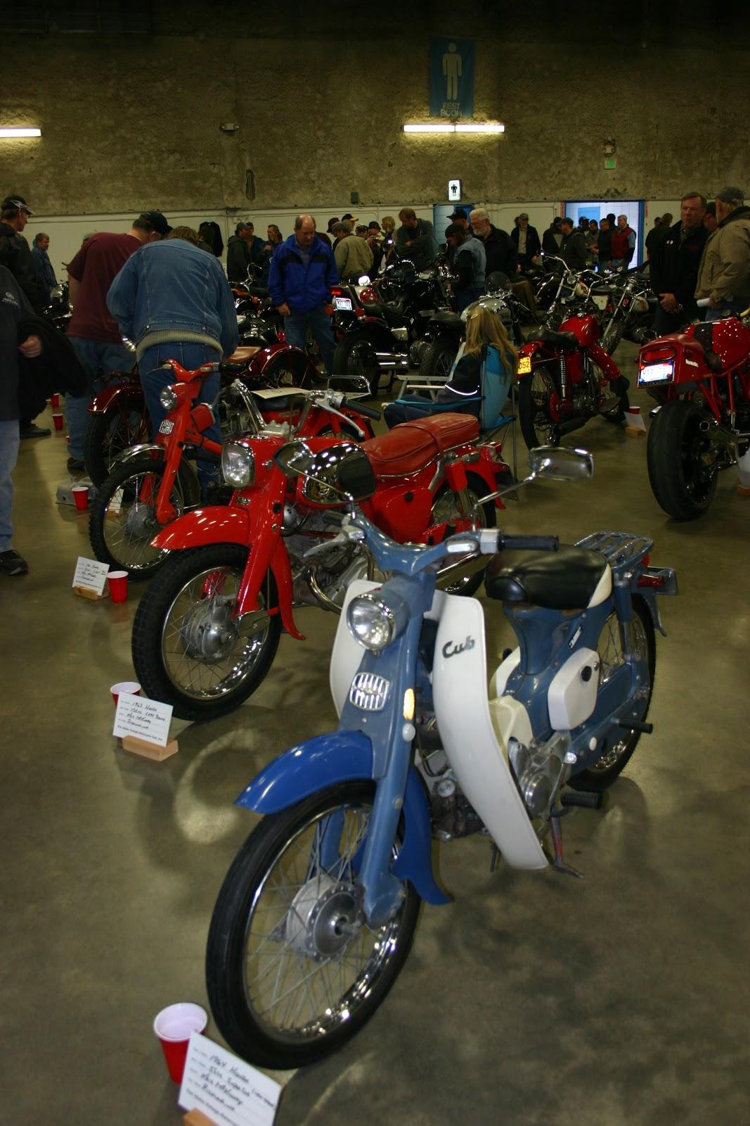 OldMotoDude  My 1960s Hondas at 2011 Idaho Vintage Motorcycle Show