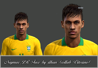 Neymar JR Face by Ilhan (Collab Vitorino)