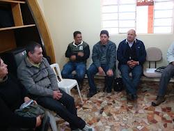 REUNIÃO DE COORDENADORES REGIONAIS DA PASTORAL SOBRIEDADE EM LIMEIRA-SP.