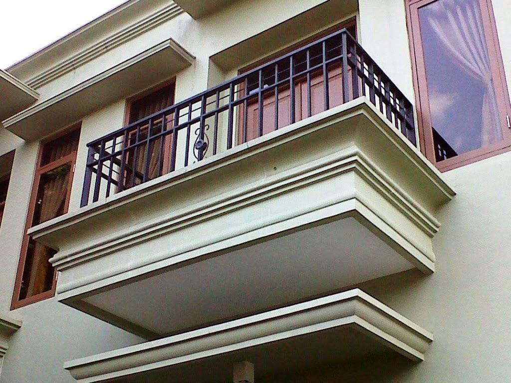 Desain Balkon Model Kecil Rumah Minimali