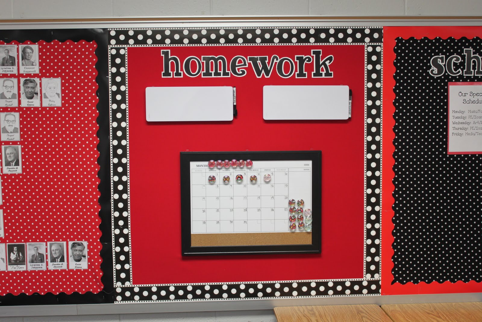 Red Classroom Decor : Dandelions and dragonflies finally my classroom reveal