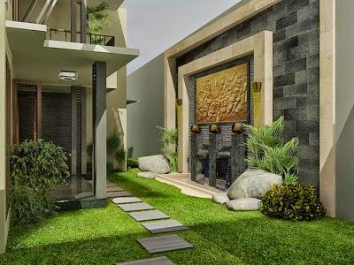7 desain taman belakang rumah minimalis desain taman