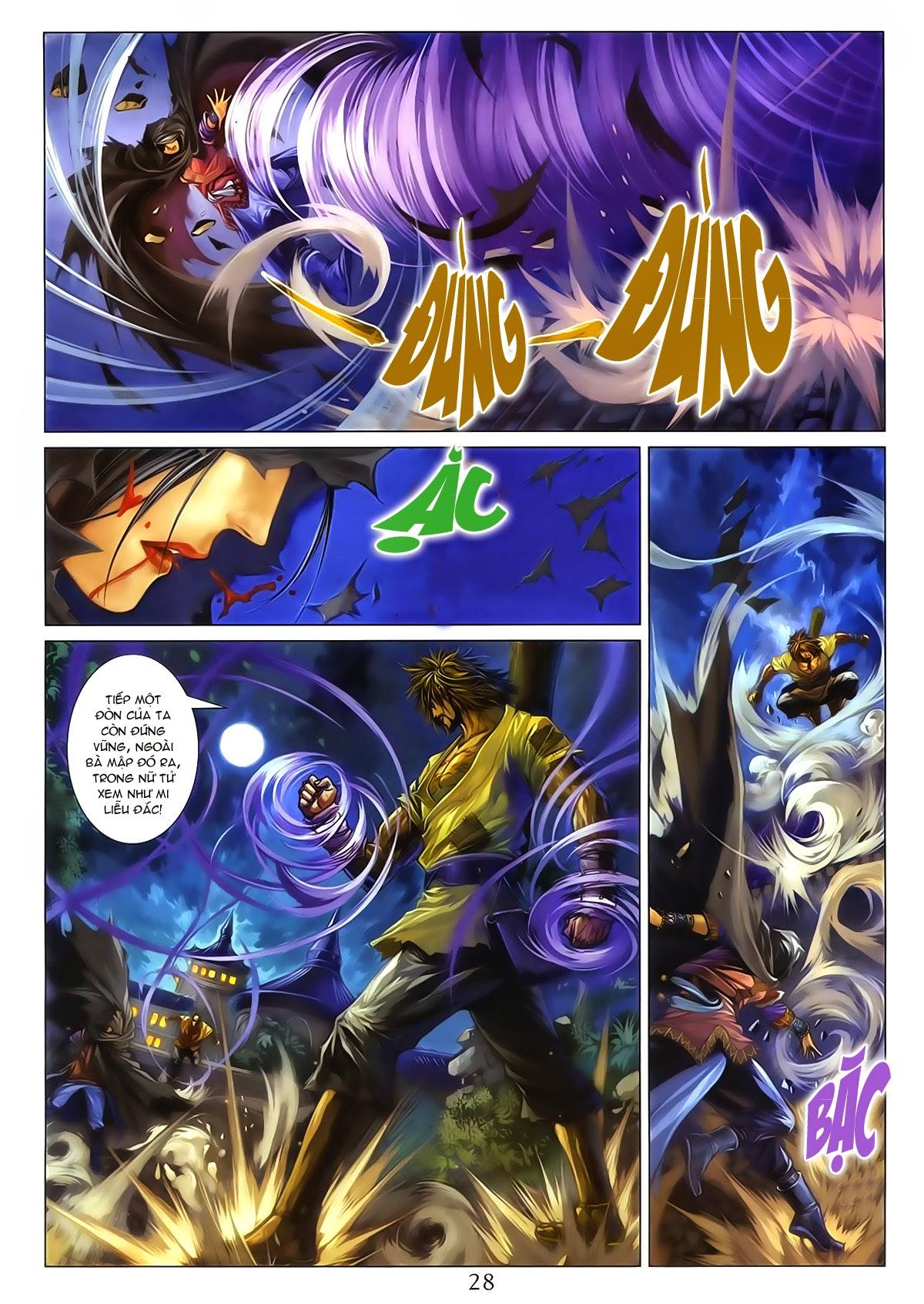 Tứ Đại Danh Bổ Chap 286 - Trang 28