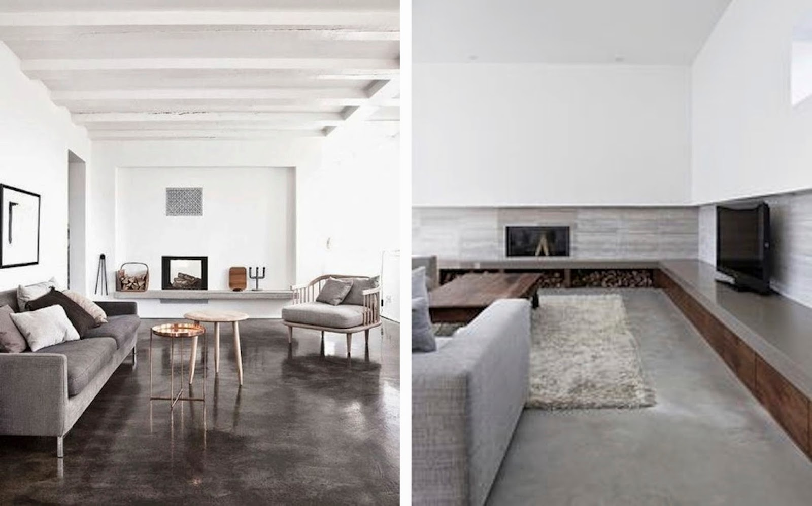 1 Inspiration For The Living Room | Low And Grey
