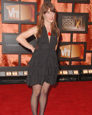Leslie Feist at the Critics' Choice Awards