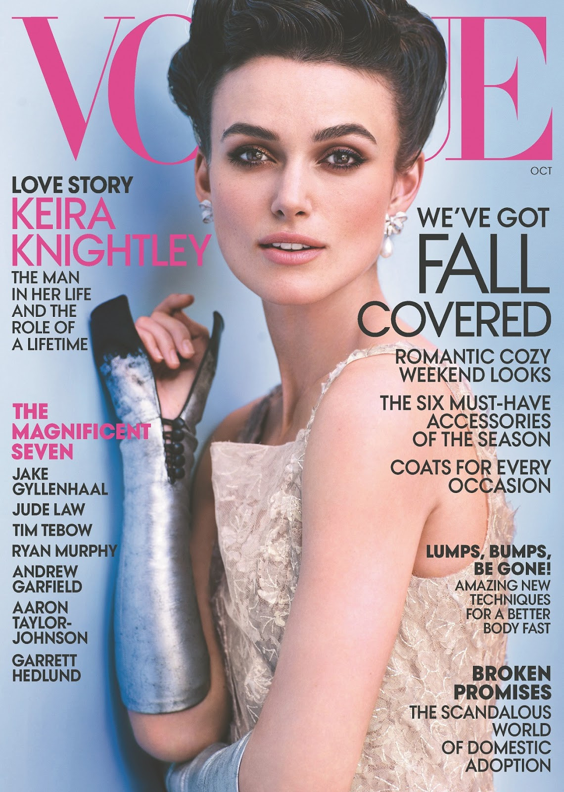 ALL IS RELATIVE: keira knightley U.S. Vogue Magazine October 2012