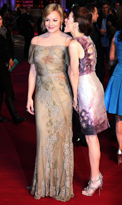 Abbie Cornish & Jena Malone at the Sucker Punch London Premiere