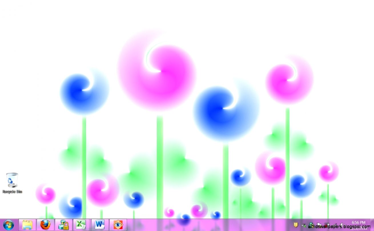 Put Some Funky Flowers on Your Desktop With Psychedelic Spring