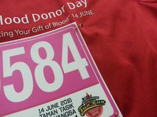 blood donors run, leamustafa.com, larian hari darah,