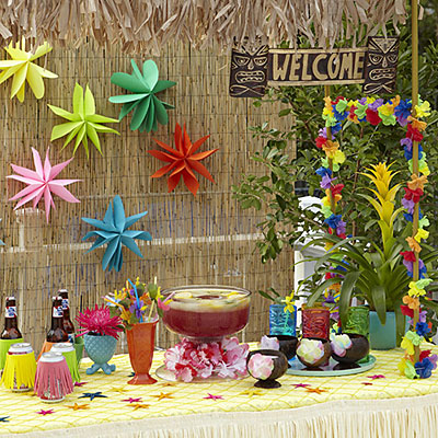 Luau Party Decoration Ideas