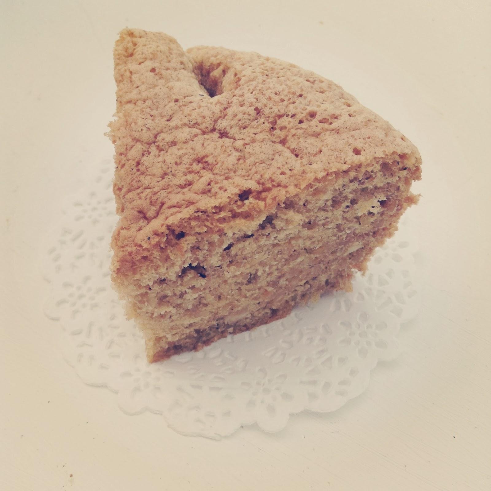 gâteau aux noisettes hazelnuts cake