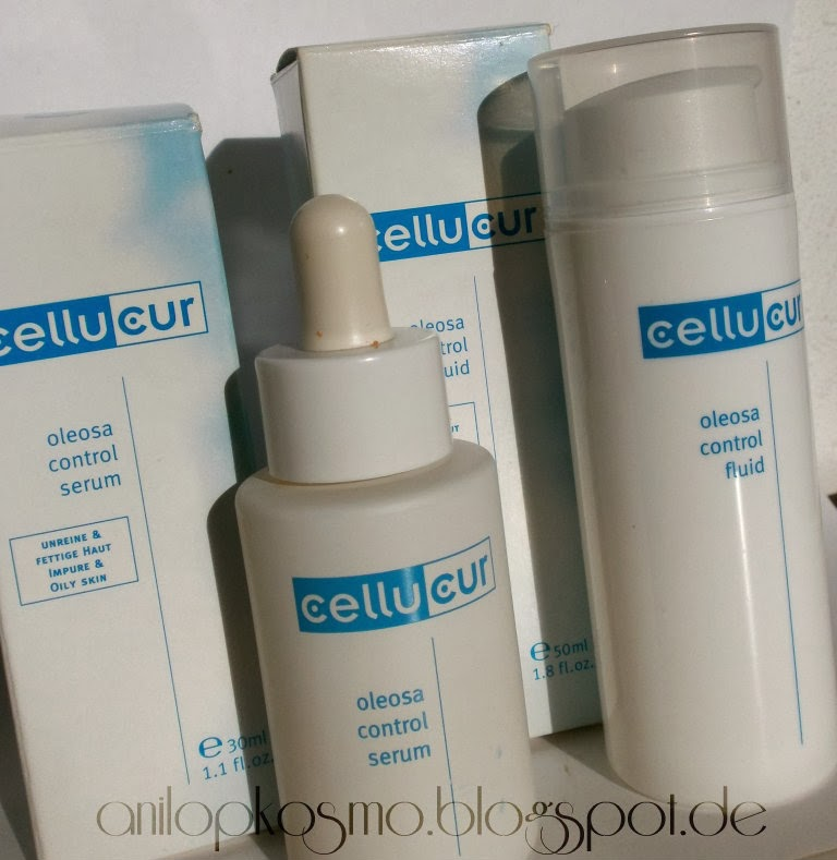 Reviderm Cellucur Oleosa Control Serum & Oleosa Control Fluid отзывы