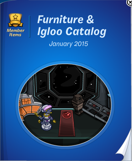 Club Penguin Furniture & Igloo Catalog Cheats January 2015