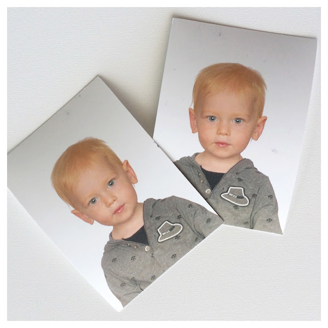 Toddler Passport Photos