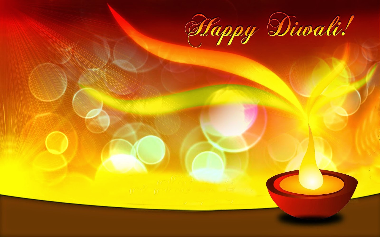 Happy Diwali 2014 Greeting And Wishes Hd Wallpapers Free Download