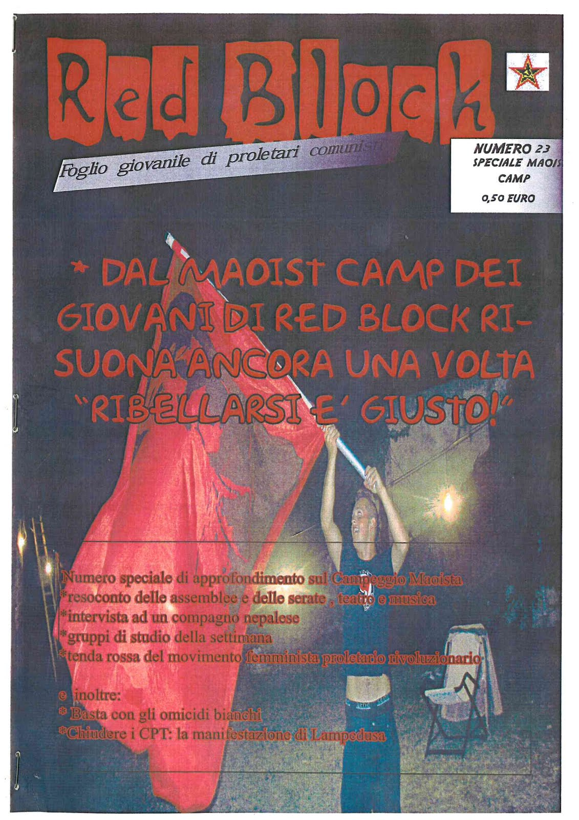 ARCHIVIO - ULTIMO NUMERO DI RED BLOCK IN PDF