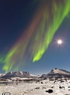 Auroras Sortland, Noruega, 01 de Noviembre 2012