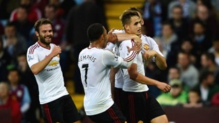 Aston Villa vs Manchester United 0-1 Video Gol