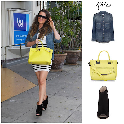 khloe kardashian fashion outfit in the style of
