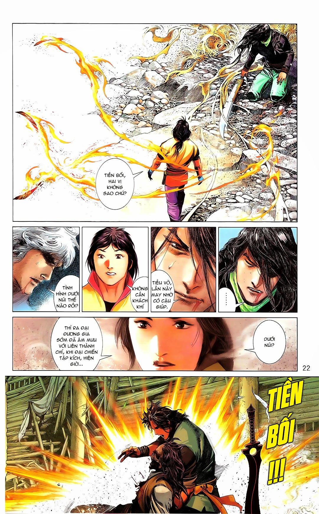 Phong Vân chap 670 Trang 21 - Mangak.info