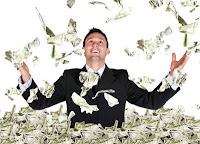 Zengin Para Kazanmak, Para Saçmak, Uçuşan Paralar