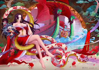 Boa Hancock One Piece Anime HD Wallpaper Desktop PC Background 1653