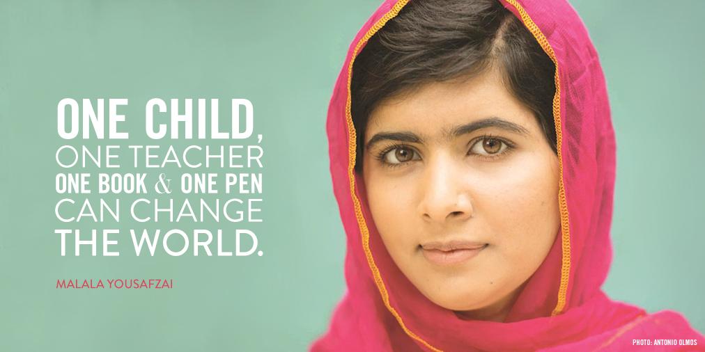 17 Malala Quotes | (BLOG)RED