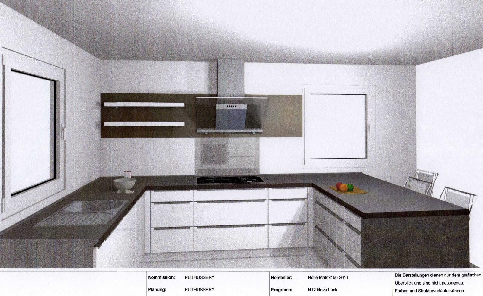 Es wird nun eine nolte küche in hochglanz weiß lackiert mit dunkelgrauer arbeitsplatte und neff elektrogeräten anbei ein paar erste eindrücke von der