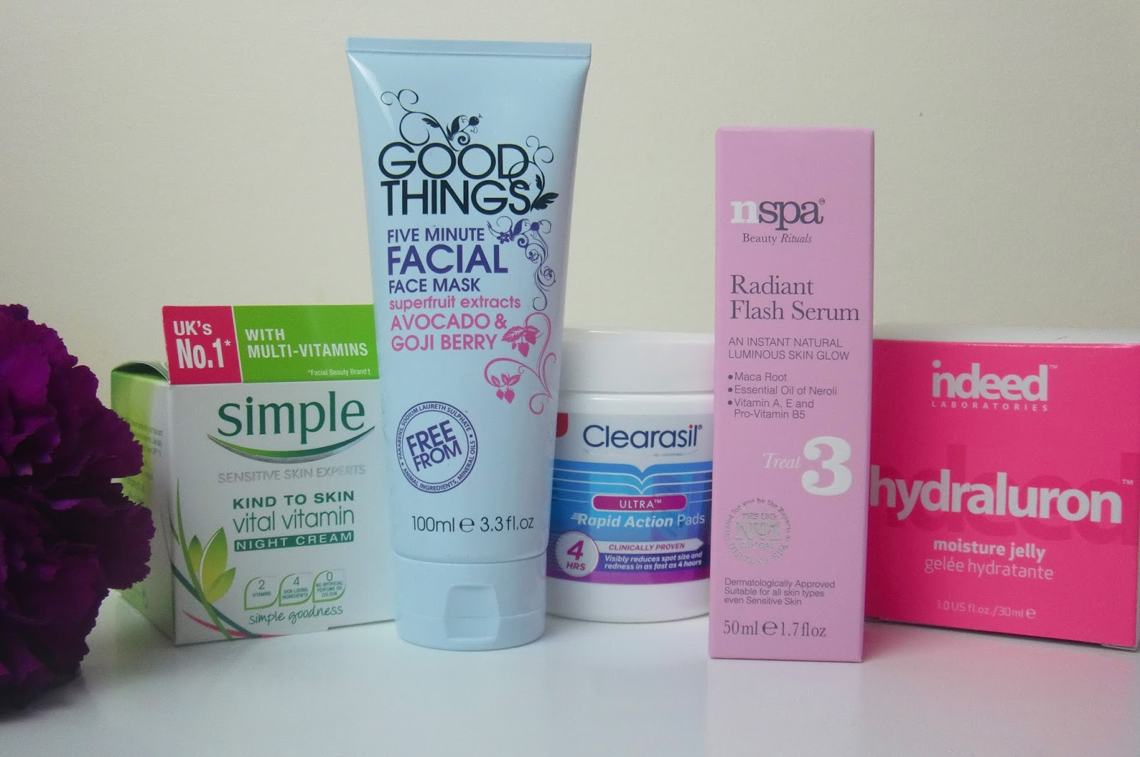 New Winter Skin Care Products Review