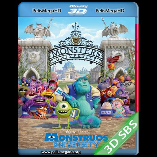 MONSTERS UNIVERSITY (2013) 3D SBS 1080P HD MKV ESPAÑOL LATINO