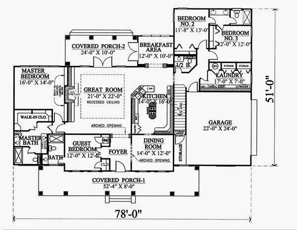 contoh denah rumah eropa 2014