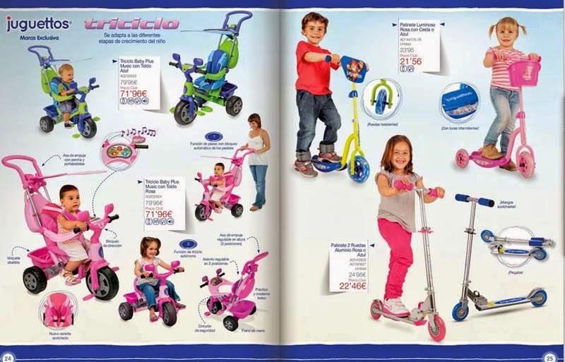 triciclo baby plus juguettos 2014-15