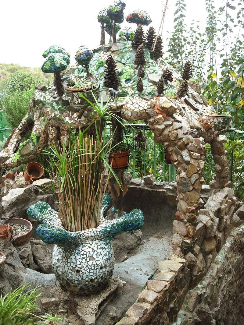 Joan seriny como decorar un estanque en trencad s mosaicos post final - Como decorar un estanque ...