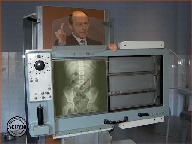 Funny photo Traian Basescu Expertiza Dosarul Flota