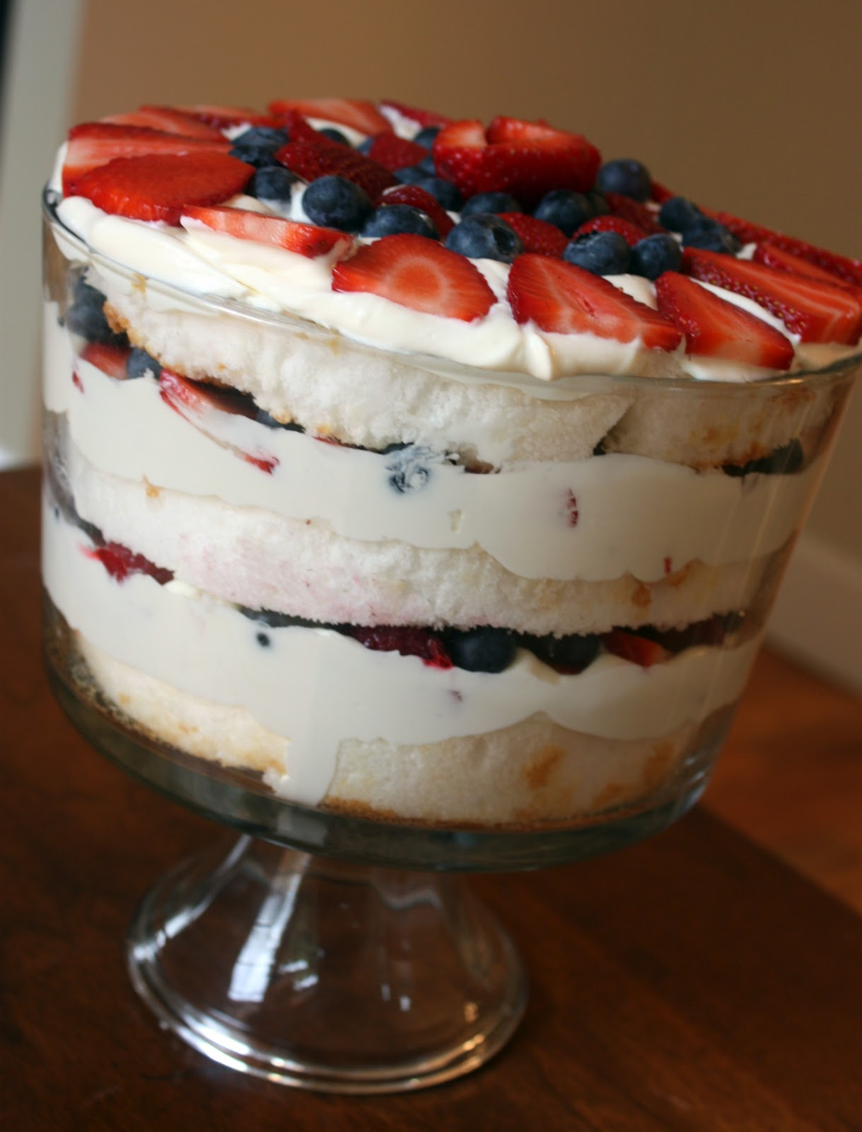 Sisters with Aprons: Triple Berry Trifle
