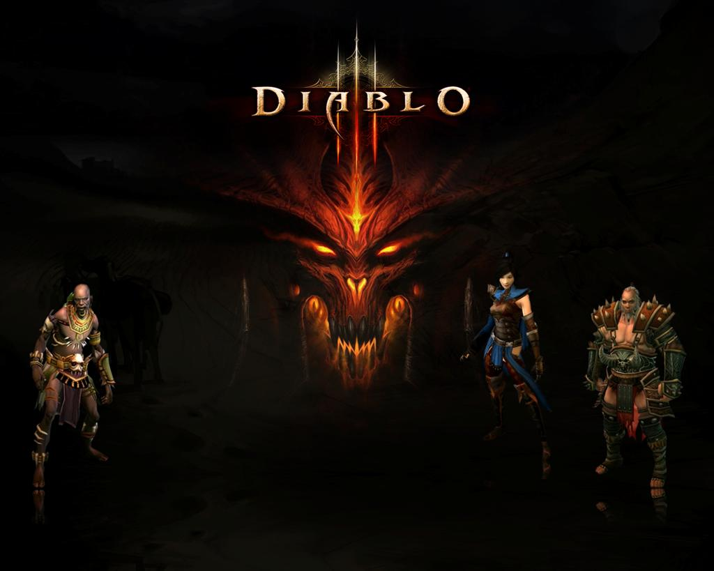 Diablo HD & Widescreen Wallpaper 0.945053450514137