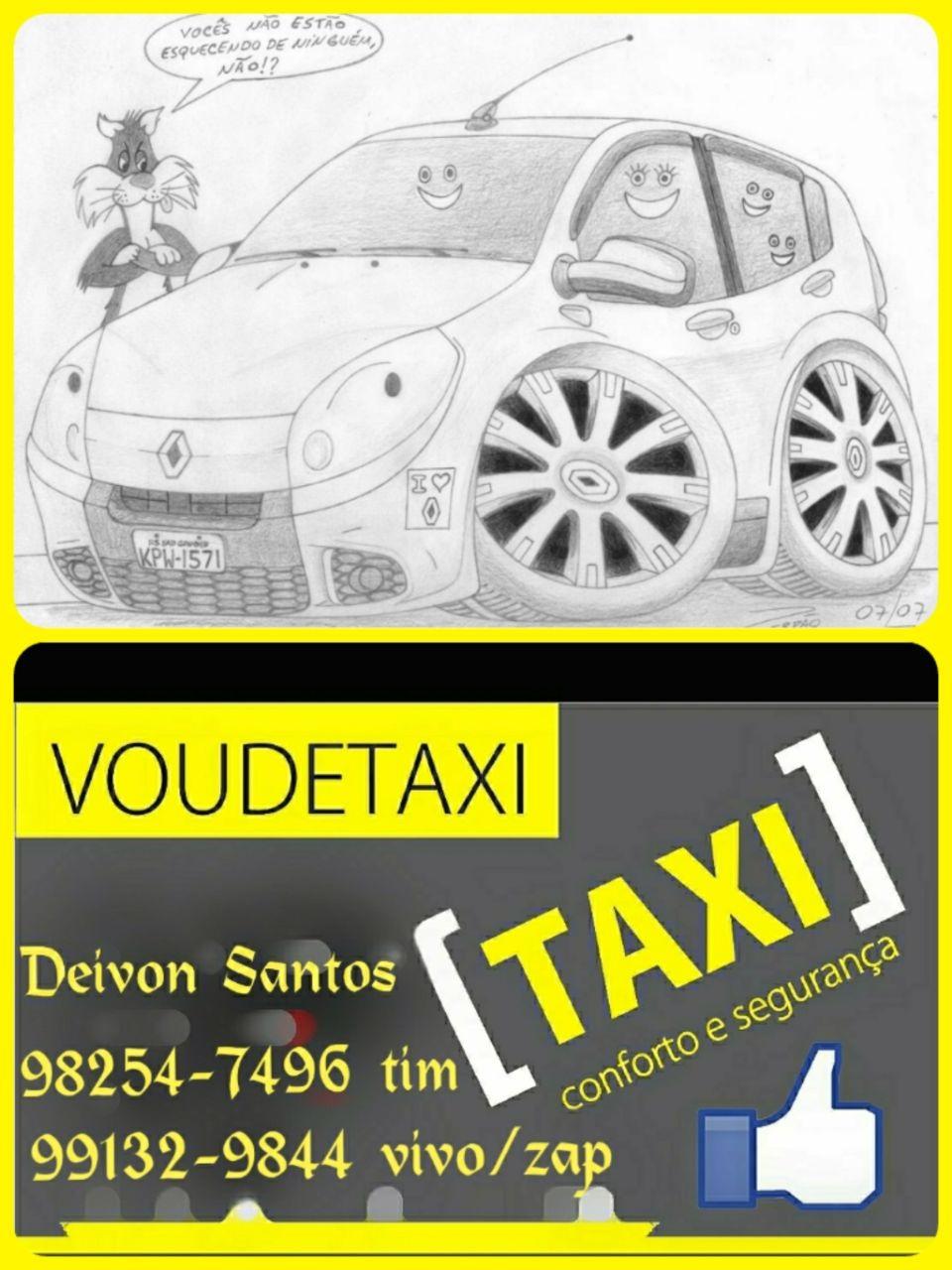 Precisou de Táxi