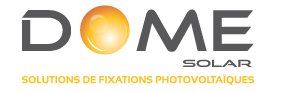 L'intégration simplifiée au bâti par Dome Solar