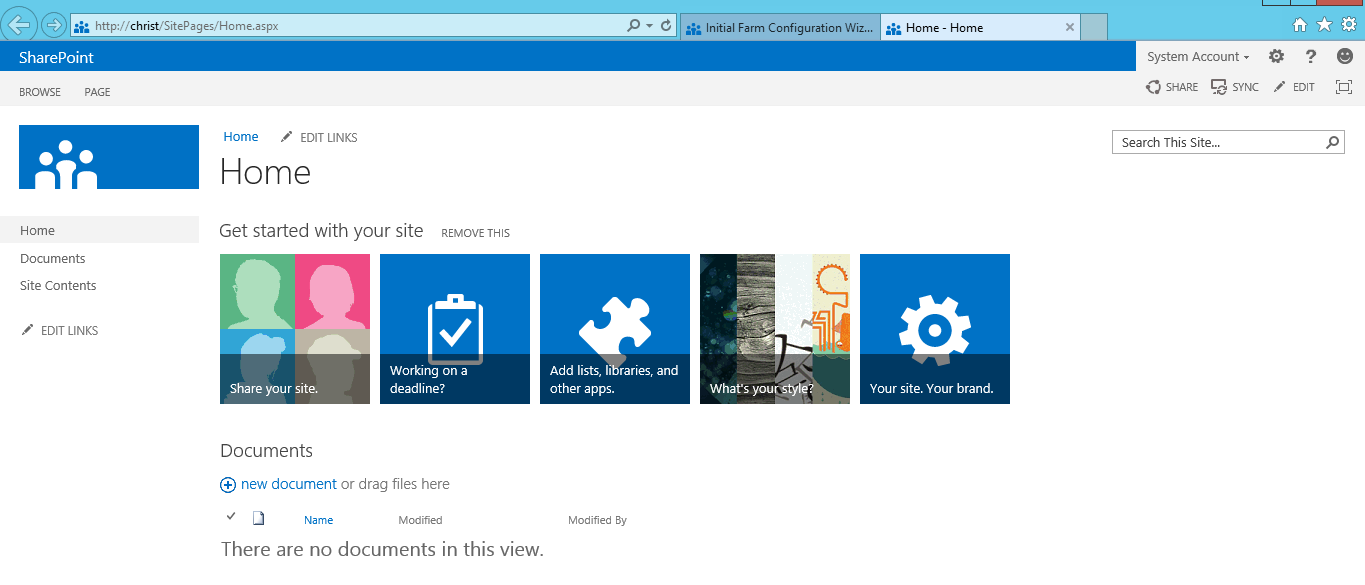 SharePoint 2013 Foundation Preview Steps by Steps Setup and ...