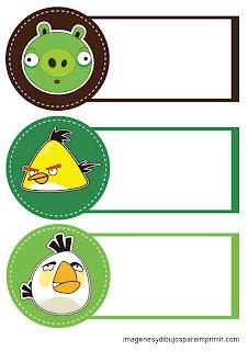 los personajes de angry birds en cuadernos
